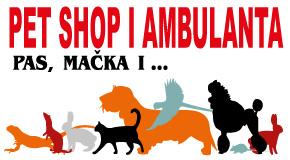 """Veterinarska ambulanta pet shop Arena Fontana Novi Beograd """"PAS MAČKA I…"""""""