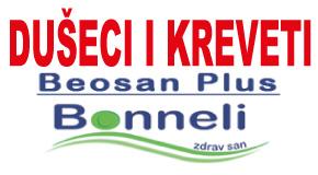 "Kreveti i dušeci  Arena blokovi Novi Beograd Surčin Piramida""BEOSAN PLUS"""