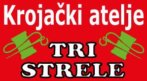 "Krojački atelje  Zemun ""TRI STRELE"""