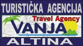 """Turistička agencija """"VANJA TRAVEL""""  Altina"""