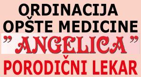 """Porodični lekar Novi Beograd-Zemun Ordinacija """"ANGELICA"""""""