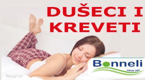 """Kreveti i dušeci  Arena blokovi Novi Beograd Surčin Piramida """"Bonneli"""" OTC buvljak"""