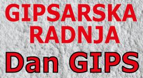 """Gipsarska radnja Beograd """"DAN GIPS"""" gipsarske radnje"""