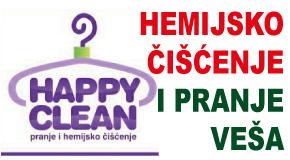 "Hemijsko čišćenje i pranje veša  Bežanijska kosa ""HAPPY CLEAN LAVANDA"""