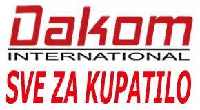 """Sve za kupatilo Bežanijska kosa Novi Beograd """"DAKOM INTERNATIONAL DOO"""""""