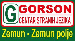 """Škola stranih jezika  Altina Galenika Plavi horizonti Zemun polje """"GORSON"""""""