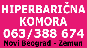 HIPERBARIČNA KOMORA  Novi Beograd Zemun