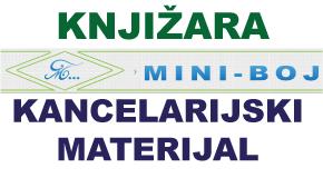"""Knjižara probor za školu kancelarijski materijal  Batajnica Banovci Pazova """"Mini Boj"""""""
