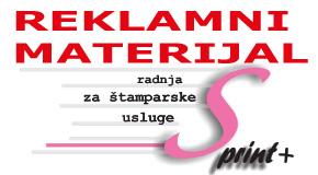 "Reklamni materijal i fotokopiranje Zemun "" SPRINT+ """
