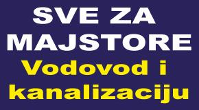 """Vodovodni i kanalizacioni materijal Blokovi Novi Beograd """"SVE ZA MAJSTORE"""""""