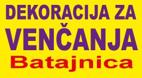 """Dekoracije za venčanja Batajnica """"DEKO KUTAK TANJA"""""""