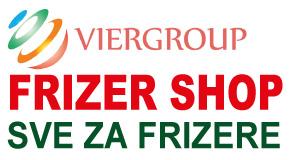 "Frizer shop, sve za kosu i frizere Zemun Novi Beograd ""VIERGROUP doo"""