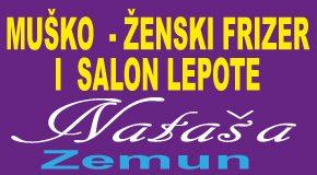 """Najpovoljniji muški, ženski frizer – salon lepote i fotokopirnica Zemun """"NATAŠA"""""""