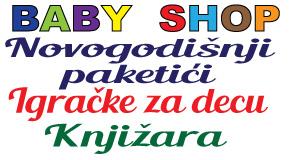 """Dečije igračke novogodišnji paketići Bežanijska kosa Surčin Ledine """"Baby shop"""" Batajnica"""