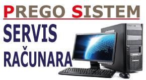"""Servis računara televizora mob. telefona Bežanijska kosa Novi Bgd """"PREGOSISTEM"""""""