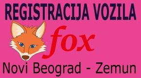 """Registracija vozila na rate Zemun paviljoni Merkator Retenzija Novi Beograd """"FOX"""""""