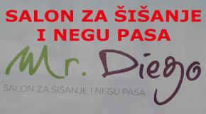 """Šišanje kupanje nega pasa Arena Sava Centar Novi Beograd """"Mr.Diego"""" grooming"""
