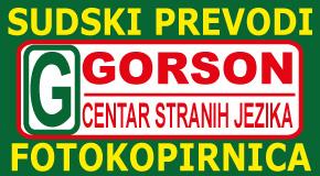 """Fotokopirnica Merkator Sudski prevodi Novi Beograd Zemun """"Gorson"""""""