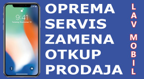 "Servis otkup prodaja mobilnih telefona Fontana Merkator Novi Bgd ""LAV MOBIL"""