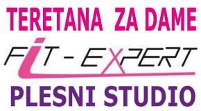 """Fitnes Teretana za žene Plesni studio Piramida Bežanijska kosa blokovi """"Fit-expert"""""""