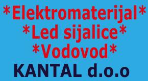 """Elektomaterijal vodovod sijalice Fontana Merkator Bežan. kosa Tošin bunar """"KANTAL"""""""
