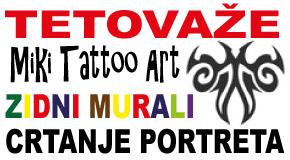 """Tetoviranje Rakovica Miljakovac Banovo brdo Voždovac Banjica """"Miki Art"""" tetovaže"""