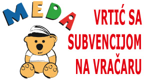 "Vrtići i jaslice sa subvencijom Vračar Crveni krst Konjarnik Šumice Zvezdara ""Meda"""