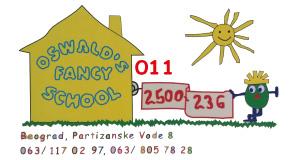 """Škola stranih jezika Žarkovo Cerak Vidikovac Bele vode """"Oswald's Fancy School"""""""