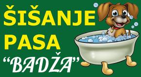 """Salon za šišanje kupanje negu pasa ljubimaca Piramida Belvil A blok 61 62 63 64 """"Badža"""""""