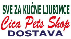 "Pet shop kućna dostava Piramida Blokovi Enjub blok 45 44 71 ""Cica Pets Shop"""