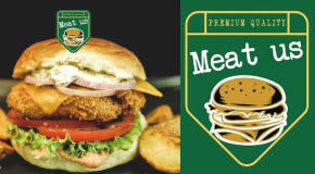 "Piletina brza hrana burgeri salate tortilje dostava Airport city Centar Sava ""Meat us"""