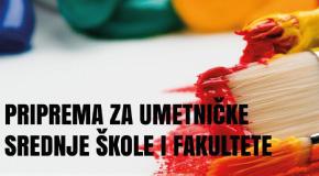 Priprema za umtničke škole fakultete i dizajn Novi Beograd Zemun Bežanijska kosa