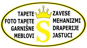 "Foto tapete rolo zavese garnišne draperije Arena Piramida Novi Beograd ""Sanna art"" Merkator"